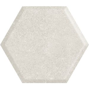 Woodskin Grys Heksagon Struktura A Sciana
