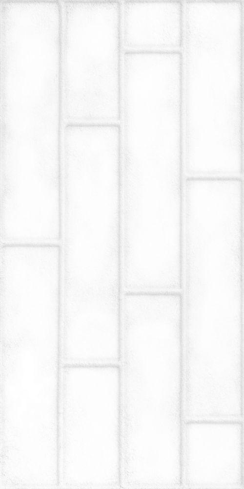 Brick White Mat