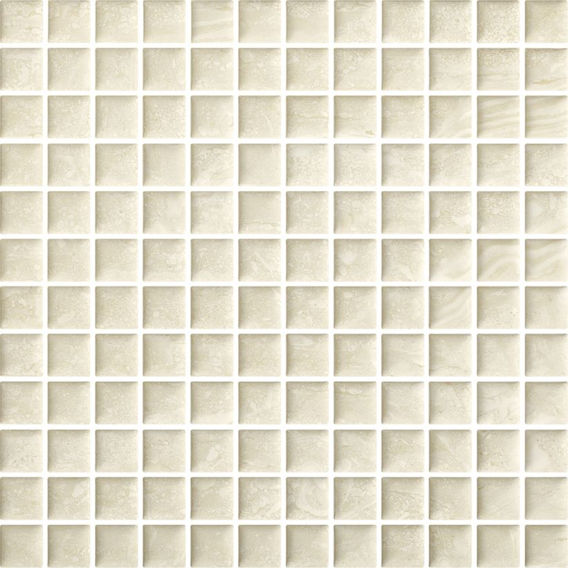 Coraline Beige mosaic pressed
