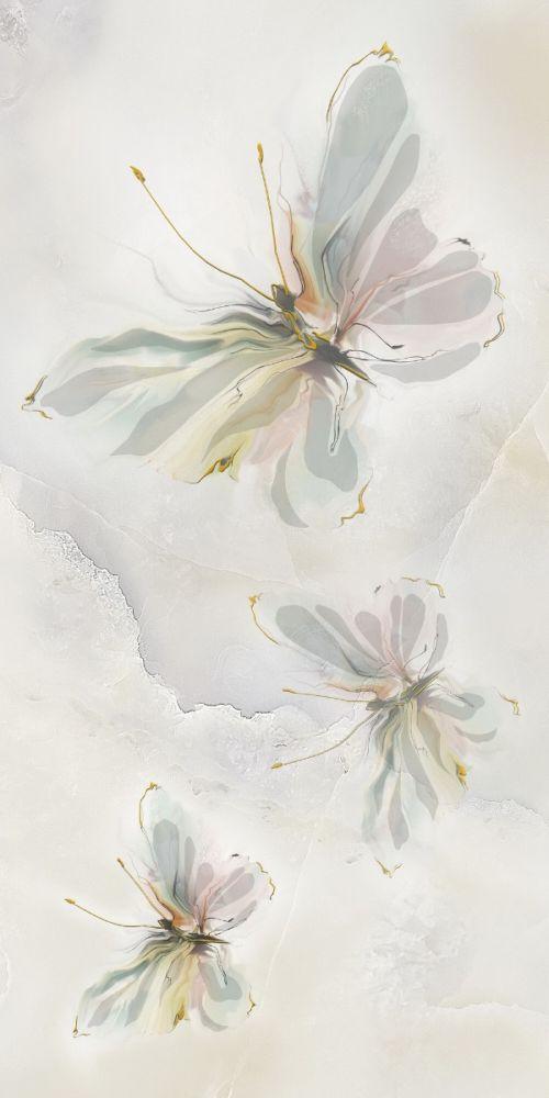Decor Onix butterfly 3 light green