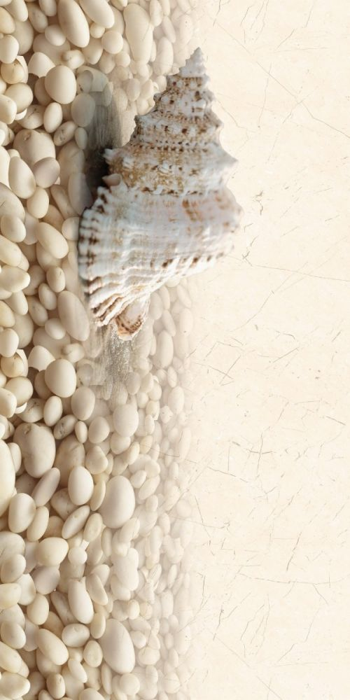 Decor Sardinia pebbles 5 white