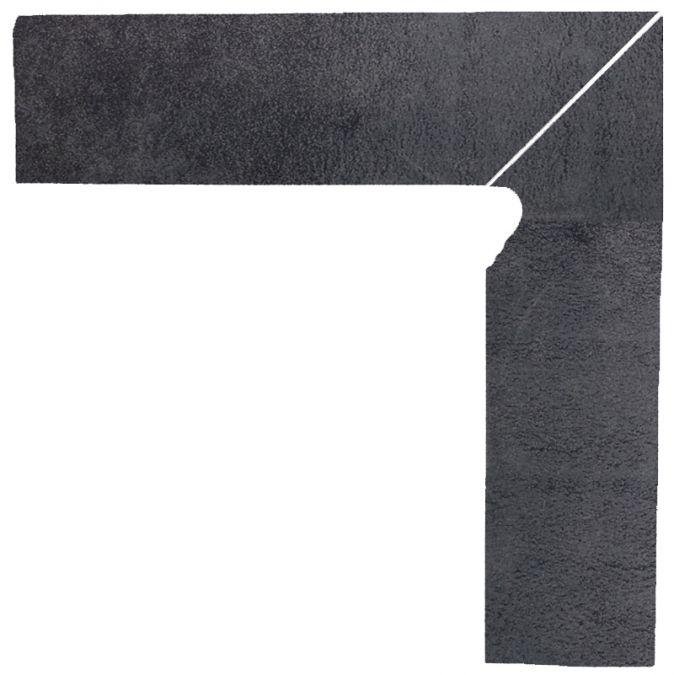 Bazalto 2-element stair skirting board