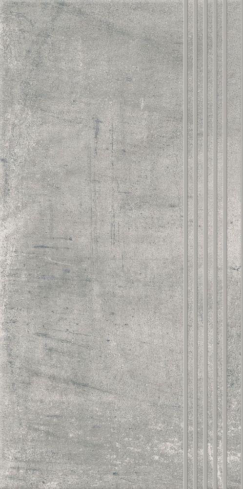 HYBRID STONE GRYS STOPNICA PROSTA NACINANA 29,8X59,8