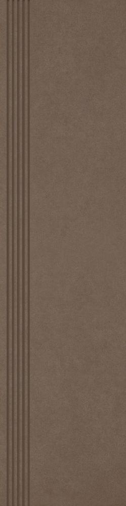 Intero Brown Stopnica Prosta Nacinana Mat. 29.8x119.8