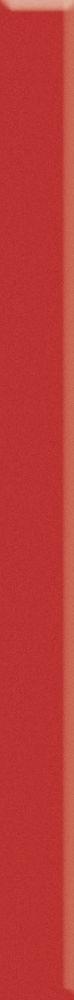 UNIWERSALNA LISTWA SZKLANA PARADYZ RED 3X40