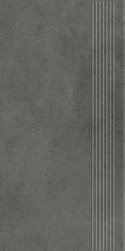 Magnetik Antracite Stopnica Prasowana Mat. 29.8x59.8