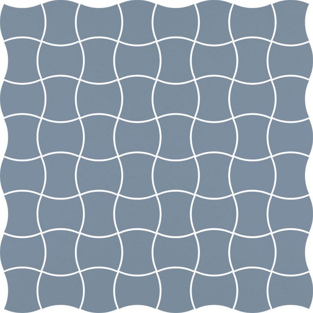 MODERNIZM BLUE MOZAIKA PRASOWANA K.3,6X4,4