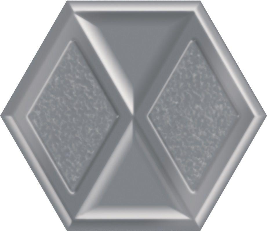 Morning Silver Heksagon Inserto Połysk