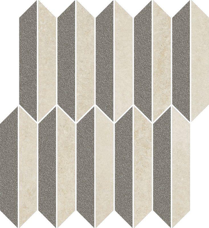 Mystic Shadows Beige Mozaika Cięta Mix Mat 27.4x29.8