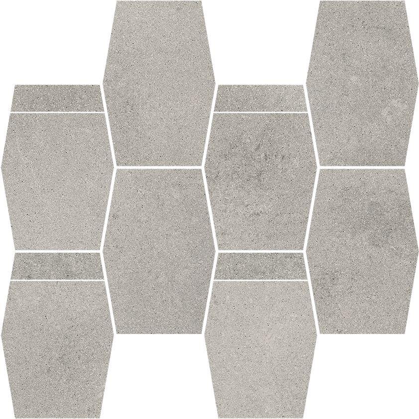 Naturstone Antracite mozaika cięta hexagon mix
