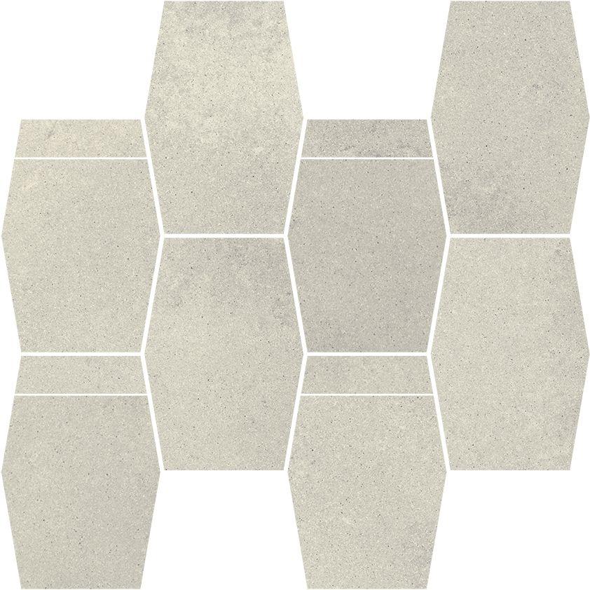 Naturstone Grys mozaika cięta hexagon mix