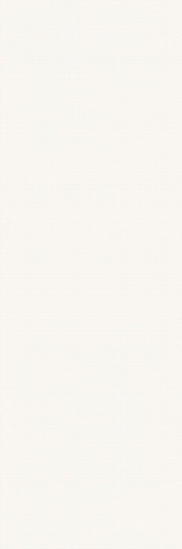 Noisy Whisper White Ściana Rekt. Dekor 39.8x119.8