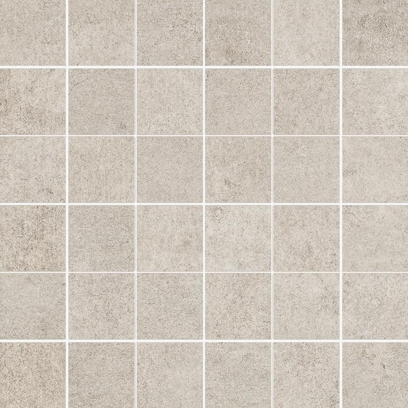 Riversand Beige Mozaika Cięta K.4,8X4,8 Półpoler