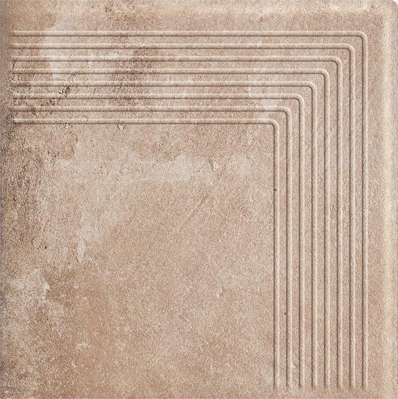 Stopnica narożna Scandiano Ochra