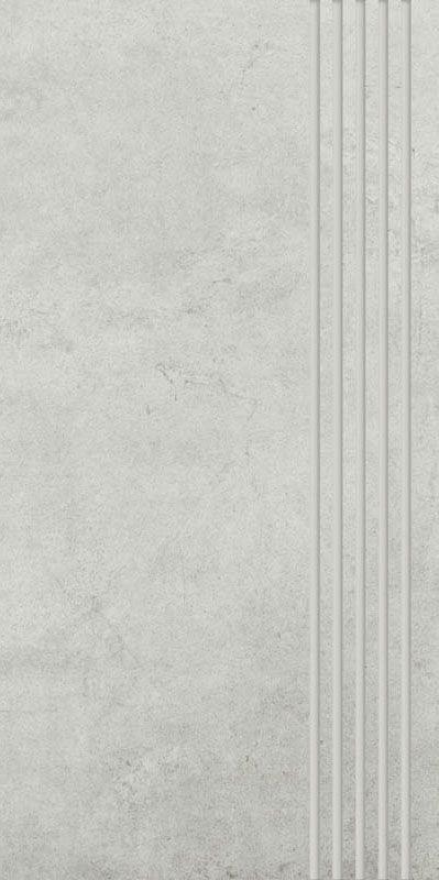 Scratch Bianco Stopnica Prosta Nacinana Mat.