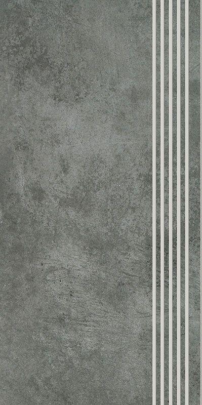 SCRATCH NERO STOPNICA PROSTA NACINANA POLPOLER 29,8X59,8