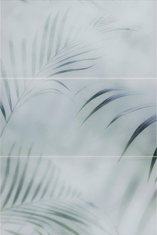 Taiga Inserto Szklane Panel set 3 buc