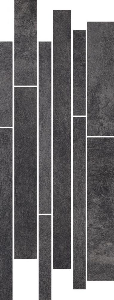Taranto Grafit listel mix stripes