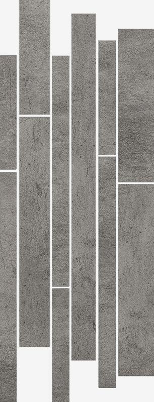 Taranto Grys listel mix stripes