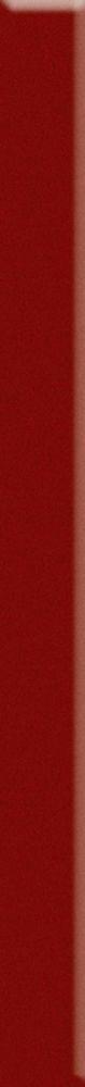 Uniwersalna Listwa Szklana Paradyż Karmazyn 4.8x60