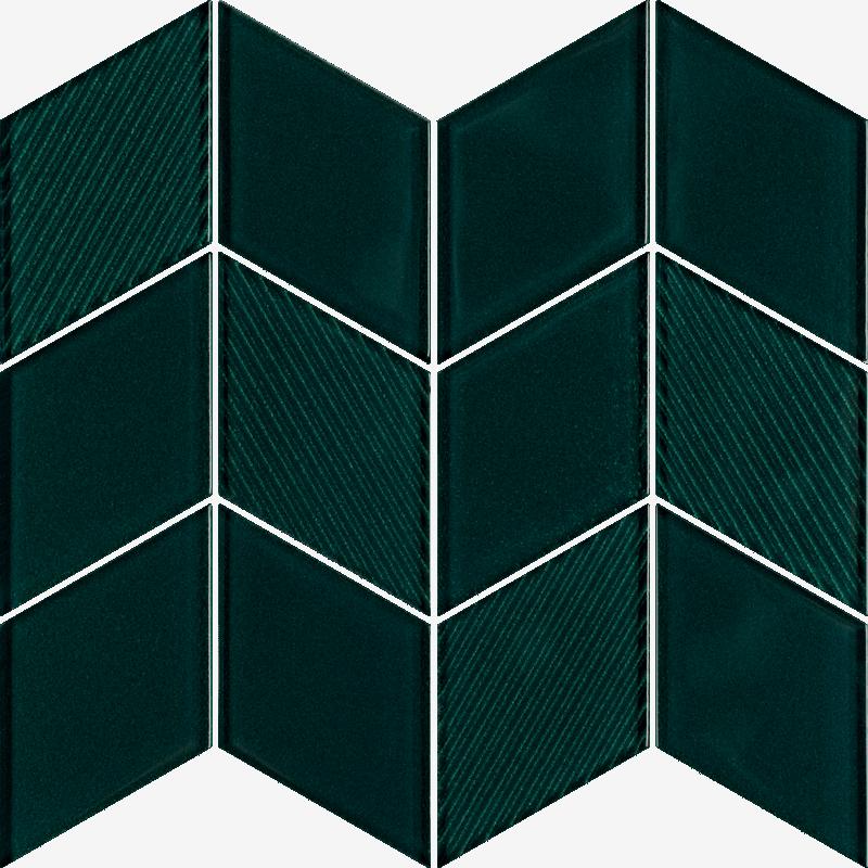 Uniwersalna Mozaika Szklana Verde Paradyż Garden 23.8x20.5